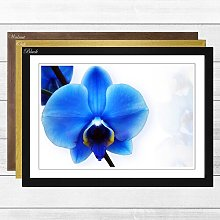 'Flower Blue Orchid' Framed Photographic