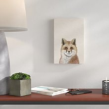 'Foxy Stare' - Wrapped Canvas Painting