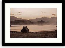 'Glencoul' Framed Print & Mount, 54.5 x
