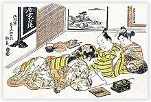 'Group of Writers' by Okumura Masanobu -
