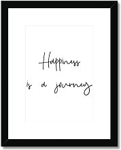 'Happiness is a Journey' - Picture Frame