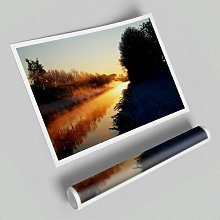 'Lake at First Light' - Unframed Graphic