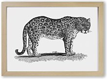 'Leopard' by George Shaw - Picture Frame
