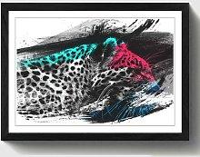 'Leopard Tiger' Framed Art Print East