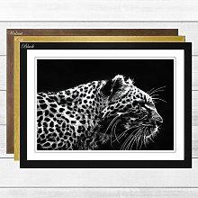 'Leopard Tiger' Framed Photographic Print