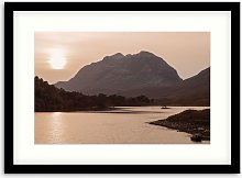 'Liathach' Framed Print & Mount, 54.5 x