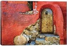 'Mexico, San Miguel De Allende Weathered House