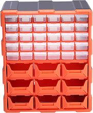 39 Multi Drawer Parts Storage Cabinet Unit