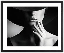 'Mystery Lady I' Framed Photographic