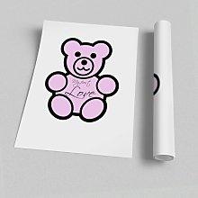 'Nursery Quote My First Love Teddybear' -