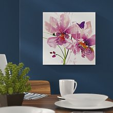 'Orchid Blush' Painting Print East Urban