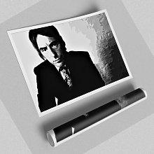 'Paul Weller the Wall' - Unframed