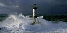 'Phare d'Ar-Men in a Storm' by Jean