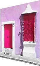 'Pink Facade Pink Door' Photograph on