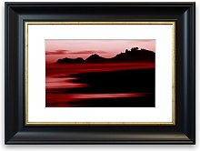 'Red Ocean Calm' Framed Photographic Print
