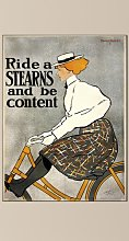 'Ride a Stearns' Graphic Art Print East