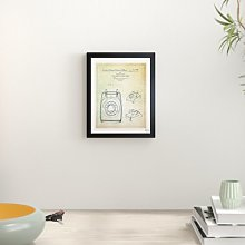 'Telephone Desk Stand 1957' Framed Graphic