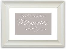 'The Best Thing About Memories 2 Beige