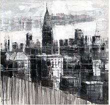'The Chrysler Building' - Painting Print