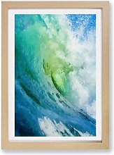 'The Curl of a Wave' - Picture Frame