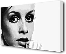 'Twiggy First Top Model' Graphic Art Print