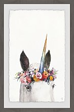 'Unicorn's Crown' Print HoneyBee