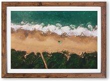'View of a Brazilian Beach' - Picture