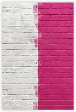 'Wall Divided' - Unframed Graphic Art