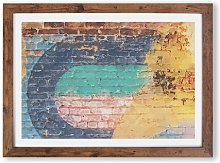 'Wall Moves' - Picture Frame Graphic Art
