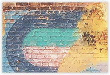 'Wall Moves' - Unframed Painting Print on