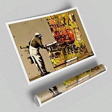 'Wall Paper' - Unframed Graphic Art Print