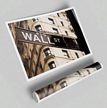 'Wall Street' - Unframed Photograph Print