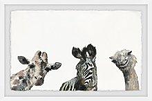 'What a Trio' Framed Print HoneyBee Nursery