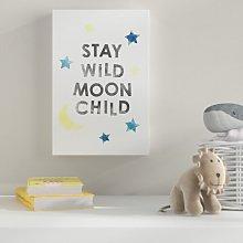 'Wild Moonchild' Print HoneyBee Nursery
