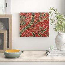 'William Morris Wallpaper Sample With Bamboo