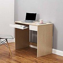3COLORS Computer Desk With Shelves Drawer Laptop