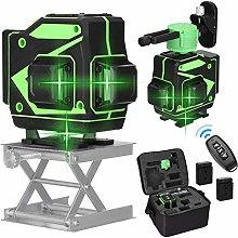 3D 12 Cross Line Laser, Kecheer Multifunctional