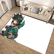 3D Anime My Hero Academia Rug Area Rugs for Living