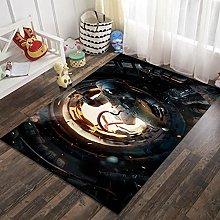 3D Astronaut Rectangular Area Carpet 63x91