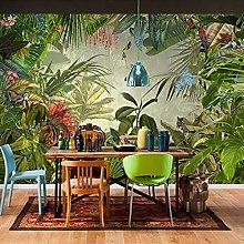 3D Banana Leaf Photo Wallpaper Background