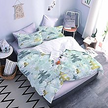 3D Bed Set Christmas Tree With Duvet Cover And