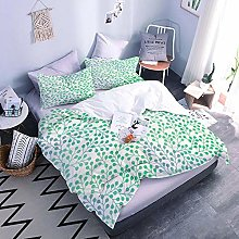 3D Bed Set Green Duvet Cover Bedding Set With