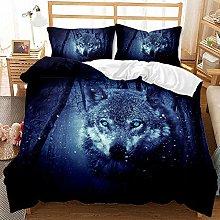 3D Bedding Set Animal wolf Printed Duvet Cover Set