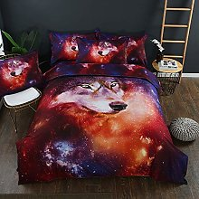 3D Bedding Set Personalized Design Galaxy Starry