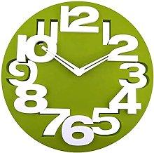 3D Big Digits Wall Clock Kitchen Home Office Decor