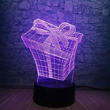 3D Christmas Led Lamp Night Light Atmosphere