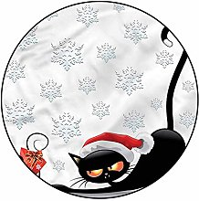 3D Christmas Pattern Area Rugs Carpets,5'