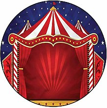 3D Circus Pattern Area Rugs Carpets,3'