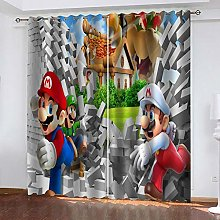 3D Curtain Child, mary for Bedroom Thermal