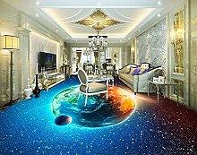 3D Custom Star Planet Flooring Painting Photo